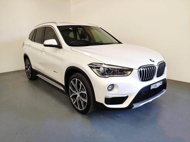 Used BMW X1 F48 xDrive25i Steptronic AWD, 2017 BMW X1 F48 xDrive25i Steptronic AWD White 8 Speed Sports Automatic Wagon