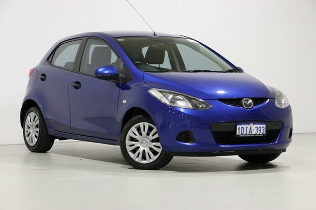 Used Mazda 2 DE Neo, 2010 Mazda 2 DE Neo Blue 5 Speed Manual Hatchback