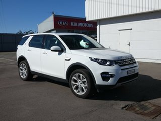 2017 Land Rover Discovery Sport L550 18MY TD4 110kW HSE Fuji White 9 Speed Sports Automatic Wagon.