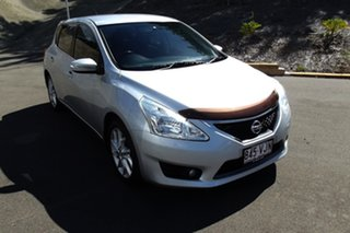2013 Nissan Pulsar C12 ST-S Silver 1 Speed Constant Variable Hatchback.