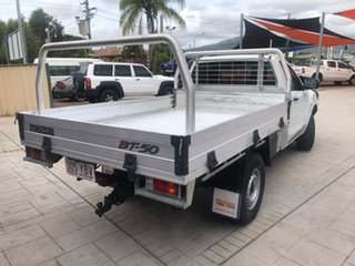 2018 Mazda BT-50 UR0YG1 XT White 6 Speed Manual Cab Chassis