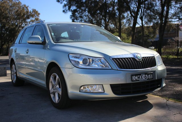 Used Skoda Octavia 1Z MY12 118TSI DSG, 2012 Skoda Octavia 1Z MY12 118TSI DSG Green 7 Speed Sports Automatic Dual Clutch Wagon