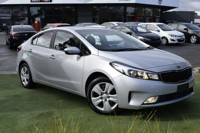Used Kia Cerato YD MY18 S, 2018 Kia Cerato YD MY18 S Silver 6 Speed Sports Automatic Sedan