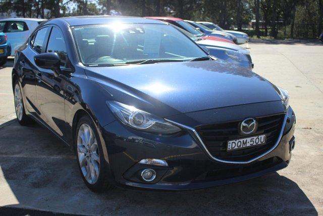 Used Mazda 3 BM5238 SP25 SKYACTIV-Drive, 2013 Mazda 3 BM5238 SP25 SKYACTIV-Drive Blue 6 Speed Sports Automatic Sedan
