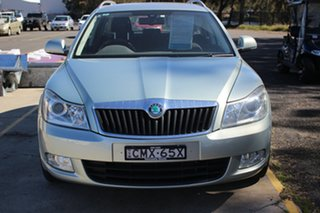 2012 Skoda Octavia 1Z MY12 118TSI DSG Green 7 Speed Sports Automatic Dual Clutch Wagon.