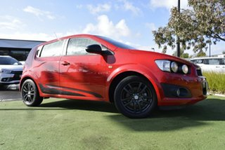 2015 Holden Barina TM MY15 X Red/Black 6 Speed Automatic Hatchback.