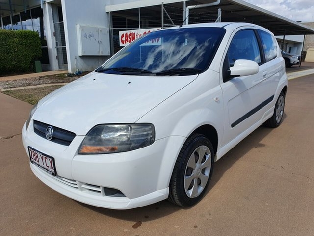 Used Holden Barina TK MY09 , 2008 Holden Barina TK MY09 4 Speed Automatic Hatchback