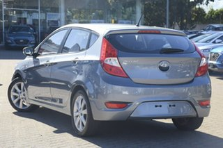 2018 Hyundai Accent RB6 MY18 Sport Silver 6 Speed Automatic Hatchback.
