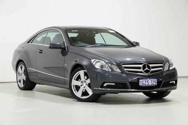 Used Mercedes-Benz E250 207 MY11 CGI Avantgarde, 2011 Mercedes-Benz E250 207 MY11 CGI Avantgarde Tenorite Grey 5 Speed Automatic Coupe