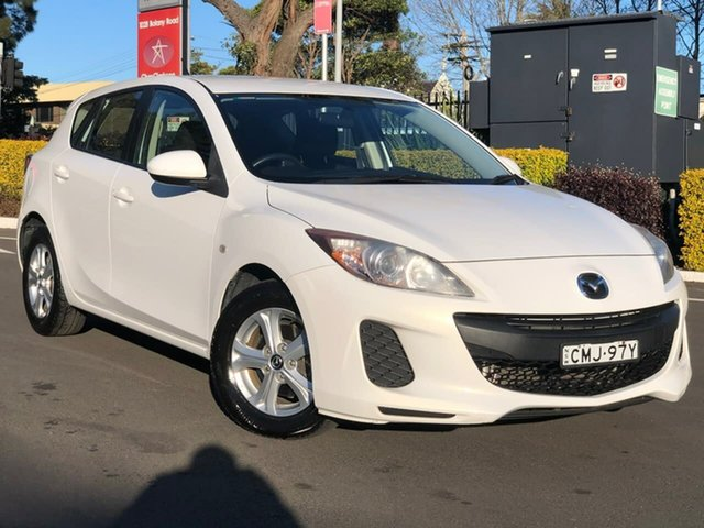 Used Mazda 3 BL10F2 MY13 Neo, 2013 Mazda 3 BL10F2 MY13 Neo White 6 Speed Manual Hatchback