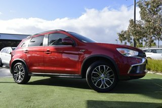 2019 Mitsubishi ASX XC MY19 LS 2WD Red/Black 6 Speed Constant Variable Wagon.