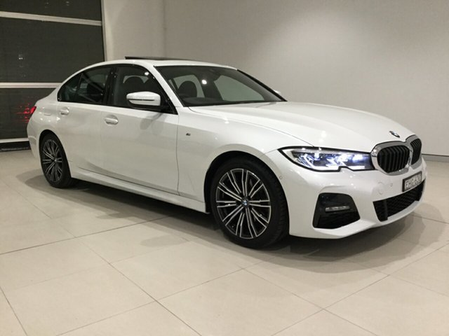 Used BMW 320i G20 M Sport Steptronic, 2019 BMW 320i G20 M Sport Steptronic White 8 Speed Sports Automatic Sedan