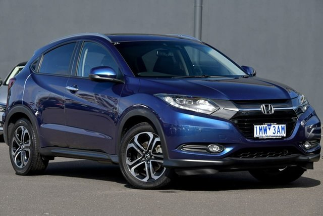 Used Honda HR-V MY17 VTi-L, 2018 Honda HR-V MY17 VTi-L Blue 1 Speed Constant Variable Hatchback