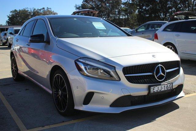 Used Mercedes-Benz A-Class W176 808MY A180 D-CT, 2017 Mercedes-Benz A-Class W176 808MY A180 D-CT Silver 7 Speed Sports Automatic Dual Clutch