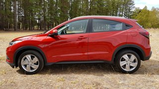 2020 Honda HR-V MY21 VTi-S Passion Red 1 Speed Automatic Hatchback