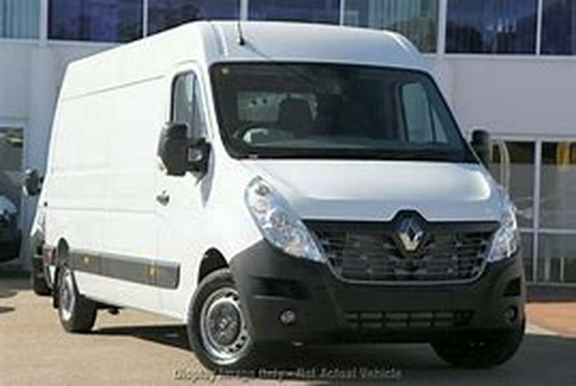 Used Renault Master X62 Mid Roof LWB, 2016 Renault Master X62 Mid Roof LWB White 6 Speed Manual Van