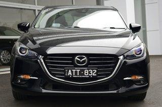 2018 Mazda 3 SP25 Astina Black 6 Speed Automatic Sedan