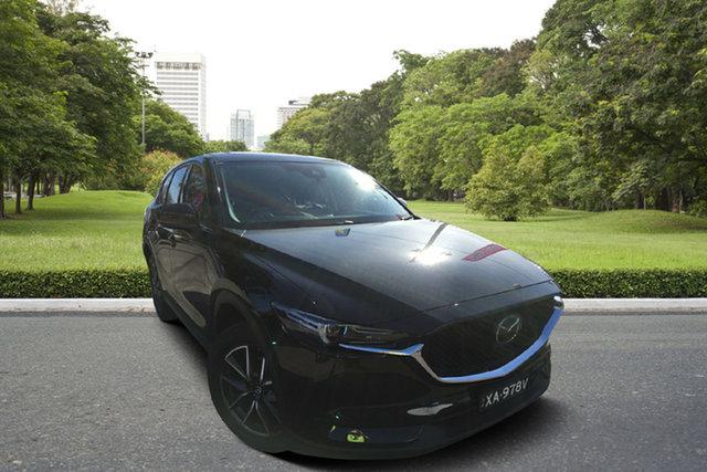 Used Mazda CX-5 KF4WLA GT SKYACTIV-Drive i-ACTIV AWD, 2019 Mazda CX-5 KF4WLA GT SKYACTIV-Drive i-ACTIV AWD Black 6 Speed Sports Automatic Wagon