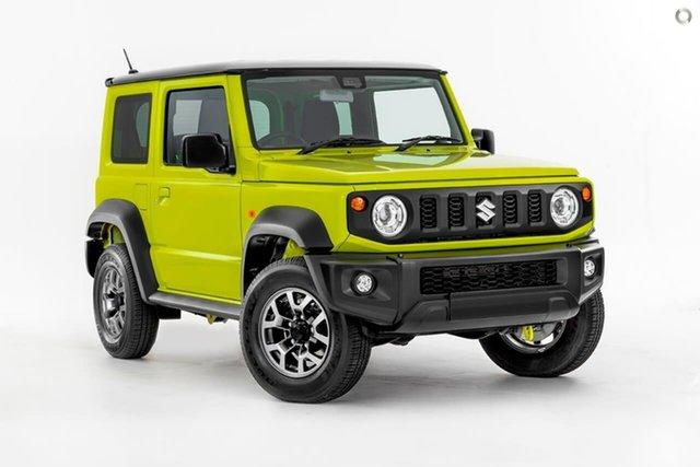New Suzuki Jimny JB74 GLX, 2020 Suzuki Jimny JB74 GLX Yellow 5 Speed Manual Hardtop