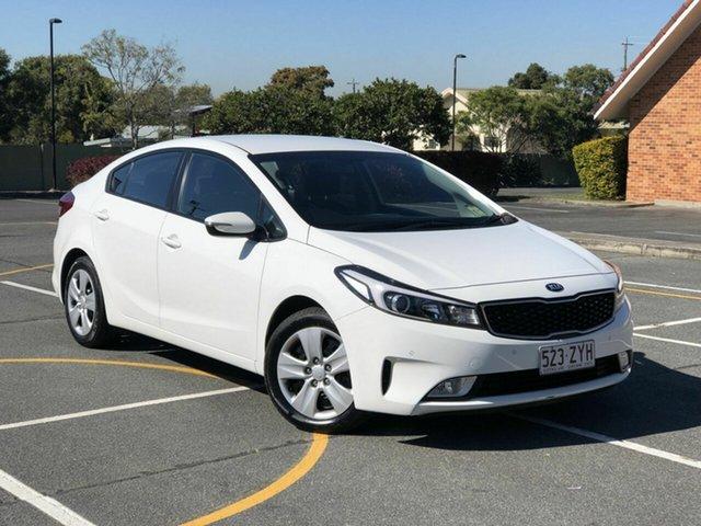 Used Kia Cerato YD MY18 S, 2017 Kia Cerato YD MY18 S White 6 Speed Sports Automatic Sedan