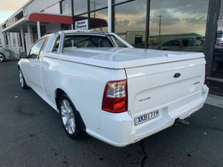2009 Ford Falcon FG XR6 (LPG) White 4 Speed Auto Seq Sportshift Utility.