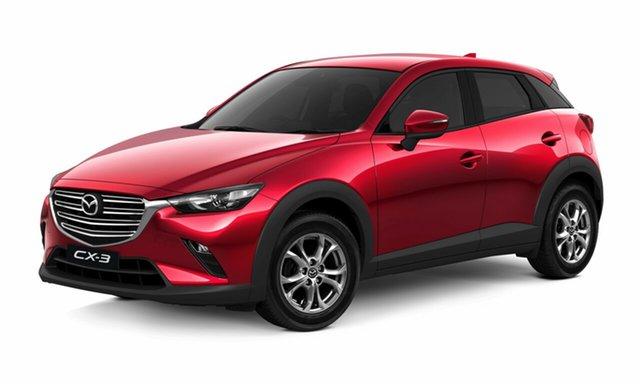 Demo Mazda CX-3 DK2W7A Maxx SKYACTIV-Drive FWD Sport, 2020 Mazda CX-3 DK2W7A Maxx SKYACTIV-Drive FWD Sport Soul Red Crystal 6 Speed Sports Automatic Wagon