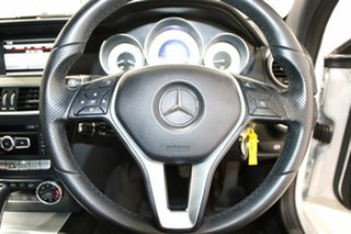 2013 Mercedes-Benz C250 W204 MY13 CDI BE Silver 7 Speed Automatic G-Tronic Coupe