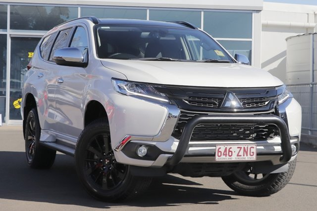 Used Mitsubishi Pajero Sport QE MY19 Black Edition, 2019 Mitsubishi Pajero Sport QE MY19 Black Edition Starlight 8 Speed Sports Automatic Wagon