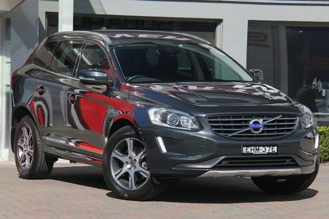 Used Volvo XC60 DZ MY14 T5 PwrShift Luxury, 2014 Volvo XC60 DZ MY14 T5 PwrShift Luxury Grey 6 Speed Sports Automatic Dual Clutch Wagon