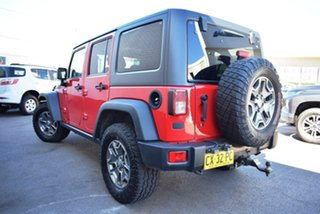 2014 Jeep Wrangler JK MY2014 Unlimited Rubicon Red 5 Speed Automatic Softtop