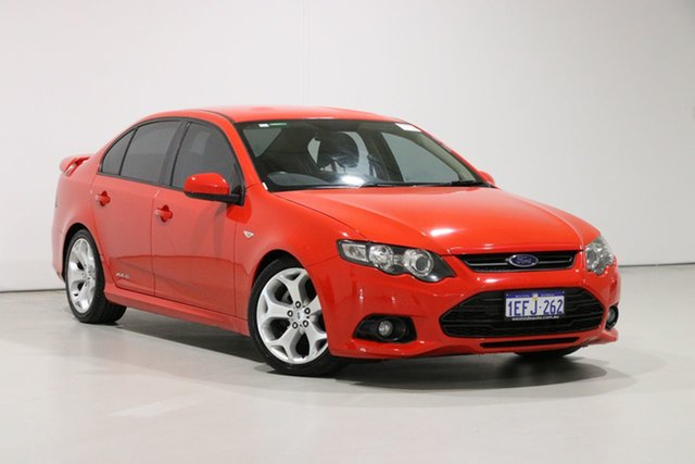 Used Ford Falcon FG MK2 XR6, 2012 Ford Falcon FG MK2 XR6 Red 6 Speed Auto Seq Sportshift Sedan
