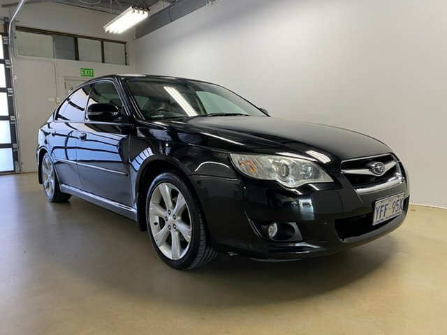 Used Subaru Liberty MY08 2.5I Heritage, 2007 Subaru Liberty MY08 2.5I Heritage Black 4 Speed Auto Elec Sportshift Sedan