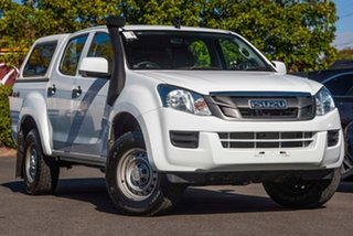 2014 Isuzu D-MAX MY15 SX Crew Cab White 5 Speed Sports Automatic Utility.