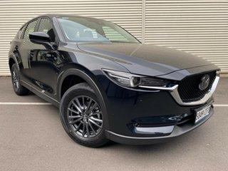 2020 Mazda CX-5 KF4WLA Touring SKYACTIV-Drive i-ACTIV AWD Jet Black 6 Speed Sports Automatic Wagon.