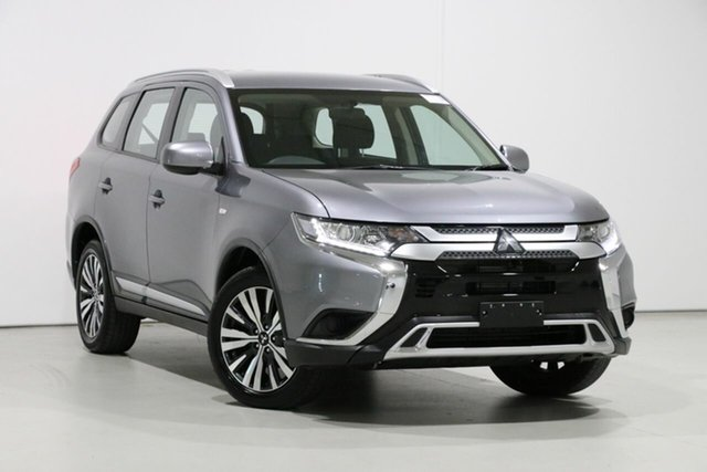 Used Mitsubishi Outlander ZL MY19 ES 7 Seat (AWD), 2019 Mitsubishi Outlander ZL MY19 ES 7 Seat (AWD) Grey Continuous Variable Wagon