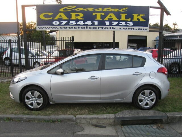 Used Kia Cerato YD MY16 S, 2015 Kia Cerato YD MY16 S Silver 6 Speed Manual Hatchback