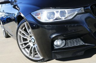 2014 BMW 328i F30 MY15 Black 8 Speed Automatic Sedan.