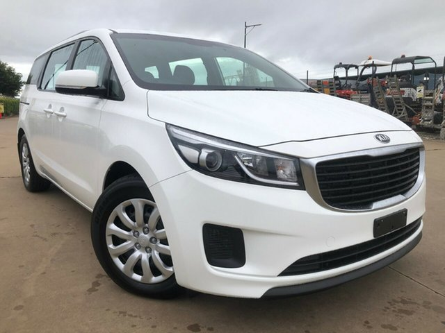 Used Kia Carnival YP MY18 S, 2017 Kia Carnival YP MY18 S White 6 Speed Sports Automatic Wagon