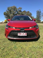 2019 Toyota Corolla Mzea12R Ascent Sport Volcanic Red 10 Speed Constant Variable Sedan.