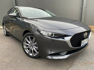 2020 Mazda 3 BP2SLA G25 SKYACTIV-Drive Evolve Machine Grey 6 Speed Sports Automatic Sedan.