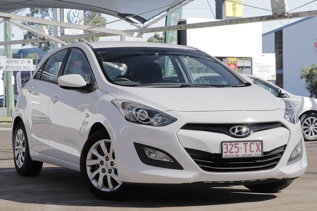 Used Hyundai i30 GD Active, 2013 Hyundai i30 GD Active White 6 Speed Manual Hatchback