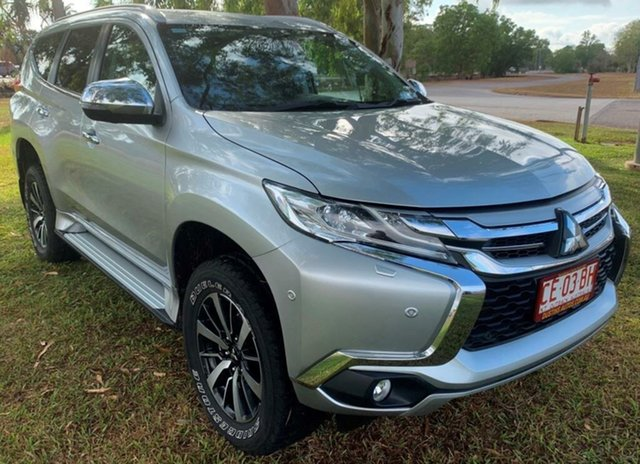 Used Mitsubishi Pajero Sport QE MY18 Exceed, 2018 Mitsubishi Pajero Sport QE MY18 Exceed Silver 8 Speed Sports Automatic Wagon