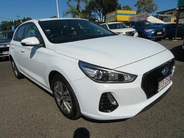 Used Hyundai i30 PD2 MY18 Active, 2018 Hyundai i30 PD2 MY18 Active White 6 Speed Sports Automatic Hatchback