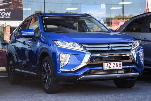 Demo Mitsubishi Eclipse Cross YA MY20 LS 2WD, 2019 Mitsubishi Eclipse Cross YA MY20 LS 2WD Lightning Blue 8 Speed Constant Variable Wagon