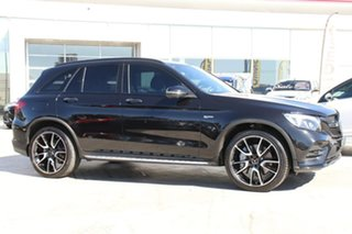 2018 Mercedes-Benz GLC-Class X253 808MY GLC43 AMG 9G-Tronic 4MATIC Obsidian Black 9 Speed.