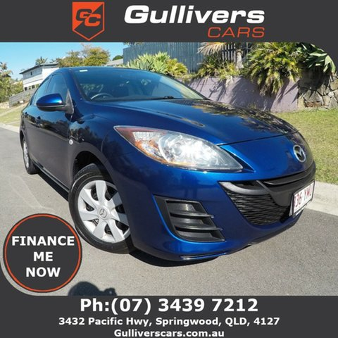 Used Mazda 3  , 2010 Mazda 3 Blue 5 Speed Manual Sedan