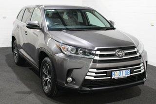 2018 Toyota Kluger GSU50R GX 2WD Silver 8 Speed Sports Automatic Wagon.