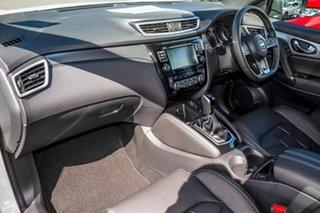 2019 Nissan Qashqai J11 Series 3 MY20 Ti X-tronic Ivory Pearl 1 Speed Constant Variable Wagon