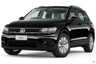 2020 Volkswagen Tiguan 5N MY20 110TSI DSG 2WD Trendline Black 6 Speed Sports Automatic Dual Clutch.