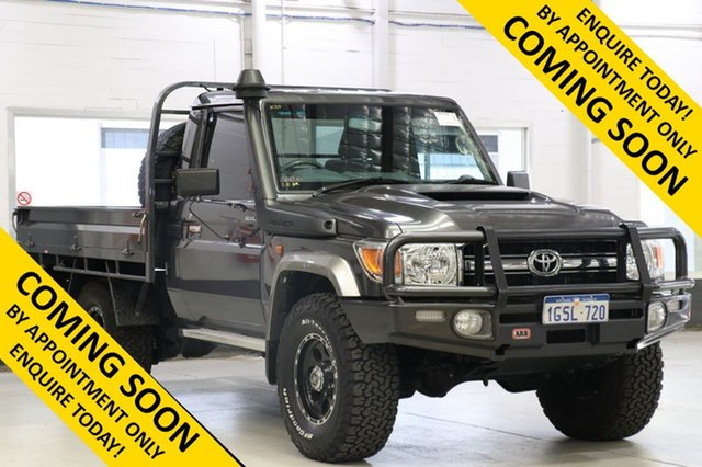 Used Toyota Landcruiser VDJ79R GXL (4x4), 2019 Toyota Landcruiser VDJ79R GXL (4x4) Grey 5 Speed Manual Cab Chassis